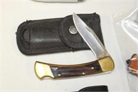 BUCK KNIFE WITH SHEATH