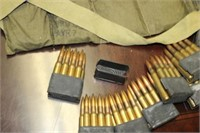 LOT OF AMMO AND CLIPS