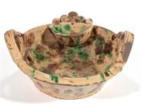 Selection of Strasburg redware and stoneware
