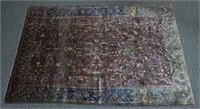 Silk Persian Rug, 51x78