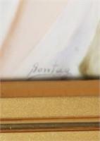 KPM Porcelain Portrait Plaque, Sontag