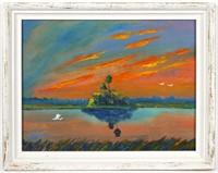 CHICO WHEELER, Highwaymen Painting