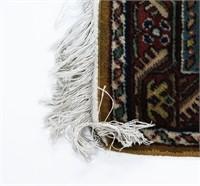 Signed Turkish Panderma Prayer Rug