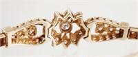 14k Gold Diamond Tennis Bracelet