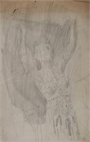 RAYMOND WHYTE, Nude Charcoal