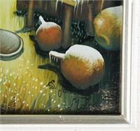 Croatian Reverse Painting on Glass