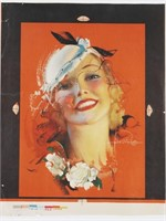 ROLF ARMSTRONG Poster proof, Pin-Up Girl
