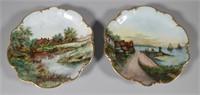 (2) Hutschenreuther Selb Bavarian Platters