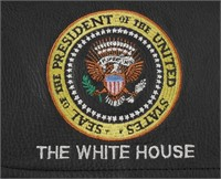 Presidential Seal White House Leather Bag