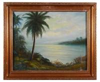 19C Florida Landscape Painting