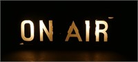 "Art Deco Radio ""ON AIR"" Sign"