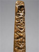 Northwest Coast Indian Totem Bookends