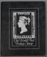 1840 Great Britain Penny Black Stamp
