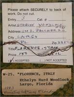 (2) ETHELYN WOODLOCK, Oil on Board Paintings