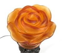Art Deco La Belle Specialty Figural Table Lamp
