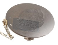 Antique Victorian Vulcanite Necklace Pendant