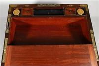 Large Victorian Writing Slope Desk