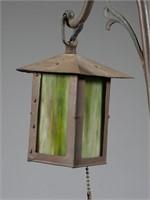Vintage Bronzed Whistling Boy Lamp