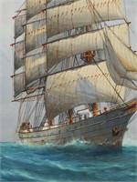 PAPALUGA, Nautical Ship Painting