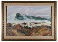 Jay Connaway, Oil on panel, Maine Coast