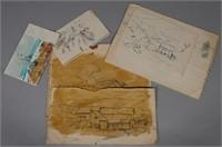 JAY CONNAWAY, (6) Sketches & Studies