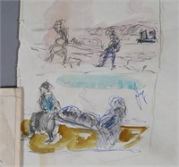 JAY CONNAWAY, (4) Sketchbook Pages