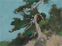 JAY CONNAWAY, Oil on panel, Landscape