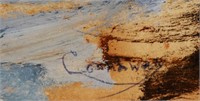 JAY CONNAWAY, Oil on Board Seascape