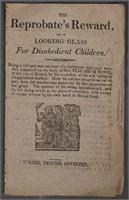 Five CHAPBOOKS, Samuel Wood, Early 1800s
