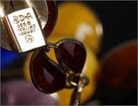 DAVID ANDERSEN Enamel Bracelet & OPRO Earrings