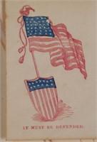 (14) 19C Patriotic Envelope Covers