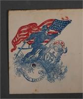 RARE Rhode Island Patriotic 19C Cover