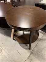 Oval Coffee Table & Round End Table