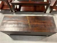 Veneer Wood Chest