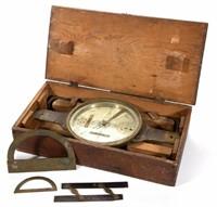Chandlee surveyor's compass