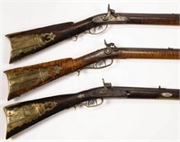 Good selection of Shenandoah Valley of Virginia long rifles