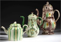 Good selection of early English ceramics