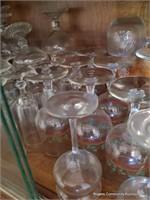 Assorted Pressed Glass