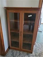 Glass Front Book Shelf