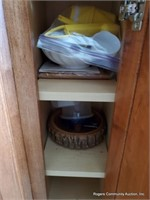 Contents of Bottom Kitchen Cupboards