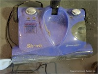 Shark Sweeper & Plastic Chair