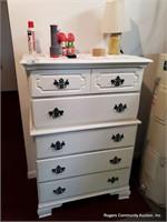White Dresser & Contents