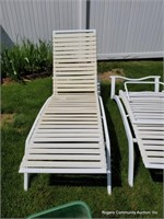 White Lawn Chairs