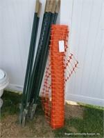 T Post & Orange Fenching