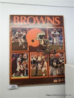 Browns Clock & USA Light