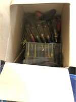 2 Boxes of Hand Tools and Electrical Misc