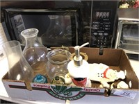 Lantern Globes - Chef Figurines