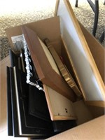 Box Lot of Picture Frames