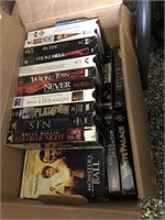3 Boxes of VHS Tapes