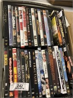 Box of Assorted DVDs